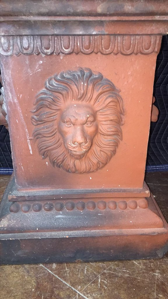 Pair Of 19th C. French Patinated Terra Cotta - 5