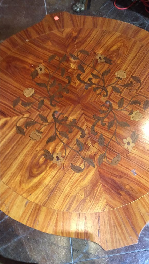 Pair  Of French Kingwood, Marquetry Tables - 3