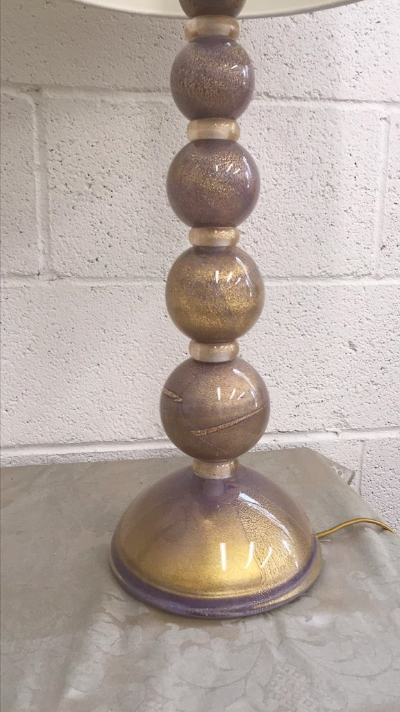 Fabulous Pair Of Murano Lamps, C.1970, - 3