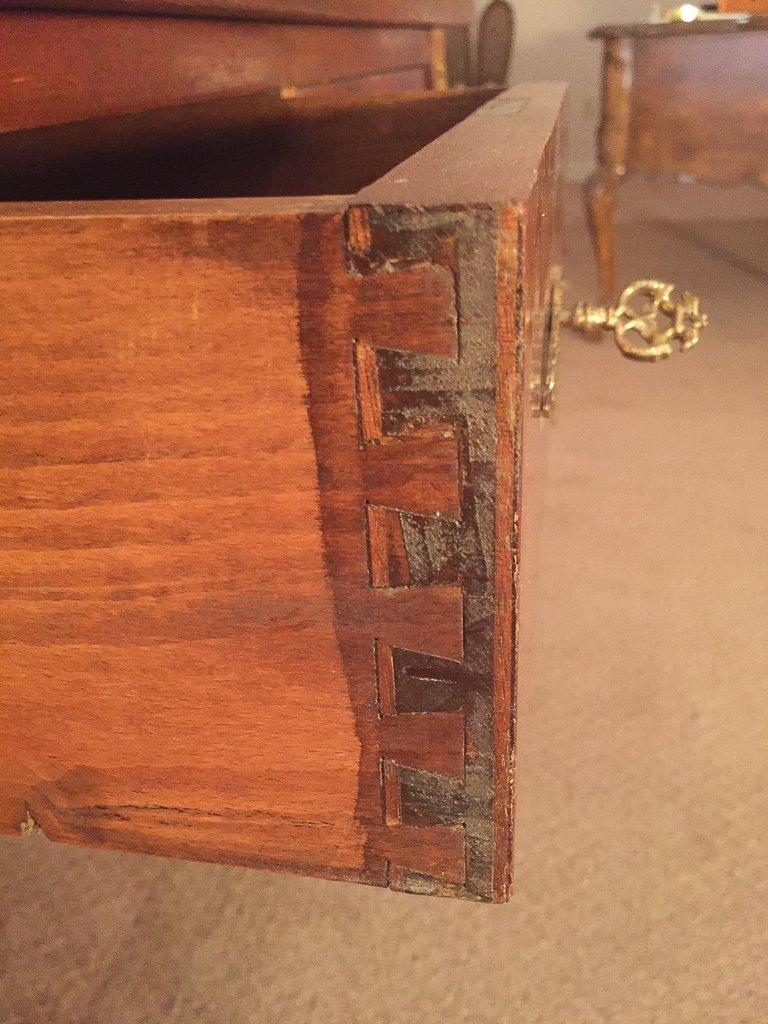 French Empire Mahogany Desk - 7