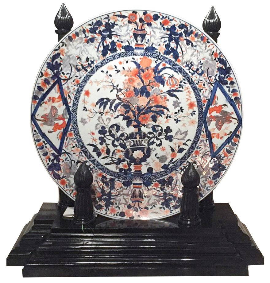 Exceptional Palace Size Japanese Imari Charger
