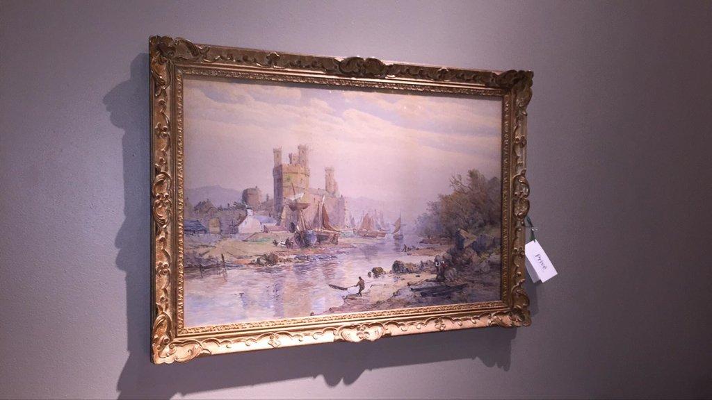 Important Charles Brooke Branwhite Watercolor, - 2