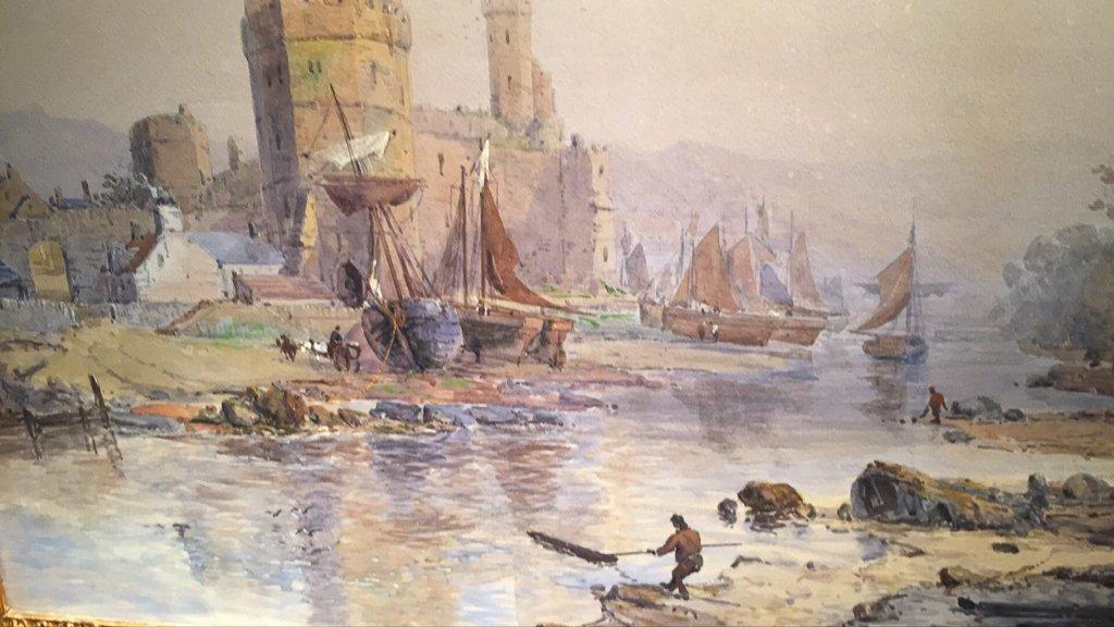 Important Charles Brooke Branwhite Watercolor, - 4
