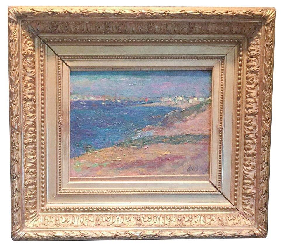 ,alphonse Birck (1859-1942), French, Coastal