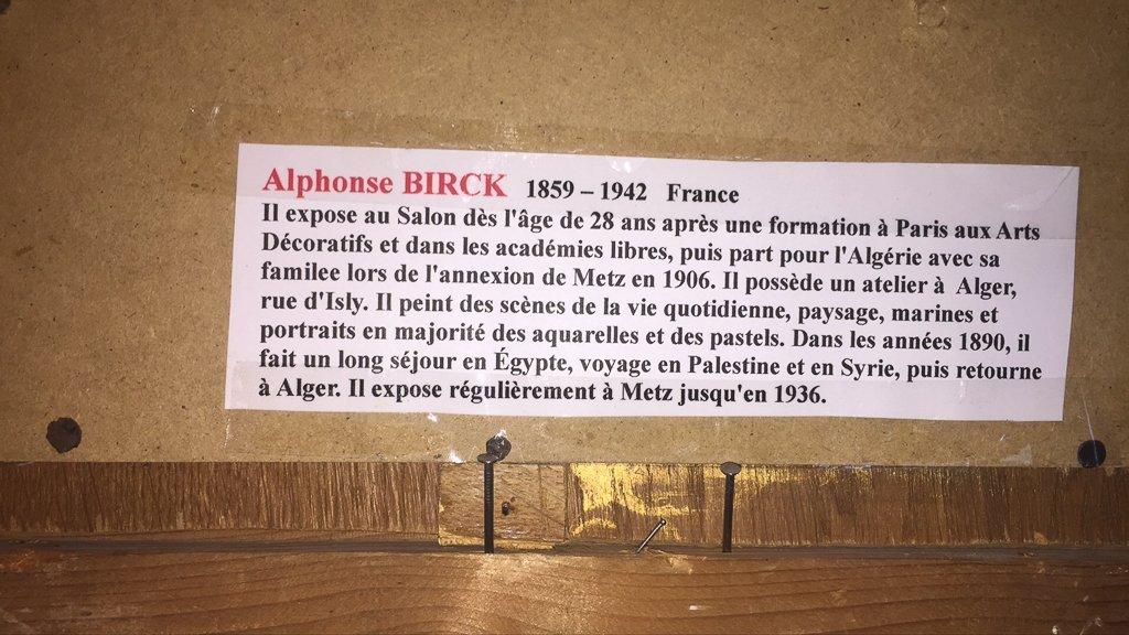 ,alphonse Birck (1859-1942), French, Coastal - 4