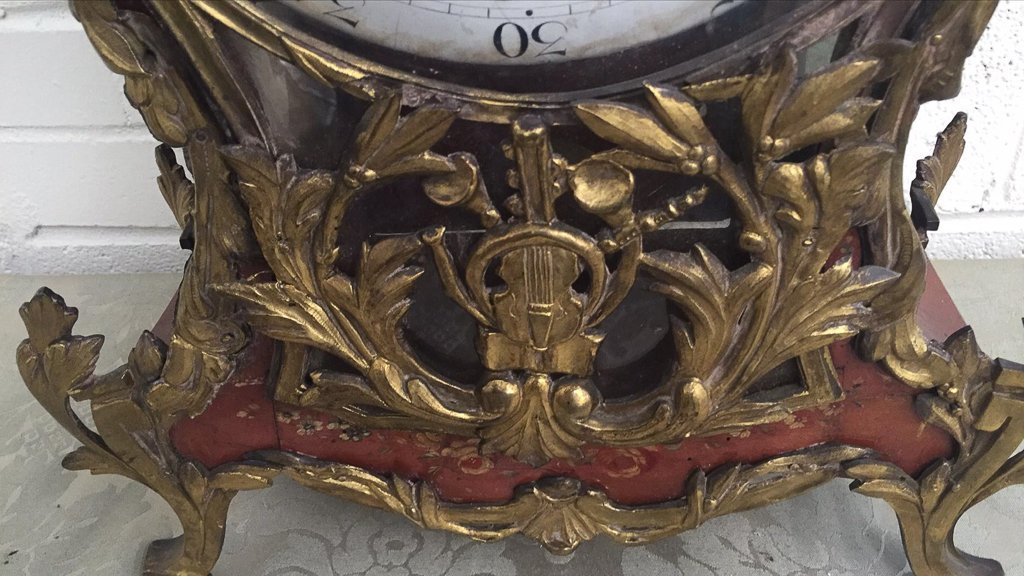 Early French Bracket Clock, Late 18th To Early - 4
