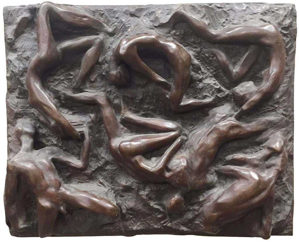 Bronze Nudes, Sculpture, By Noted Sculptress,