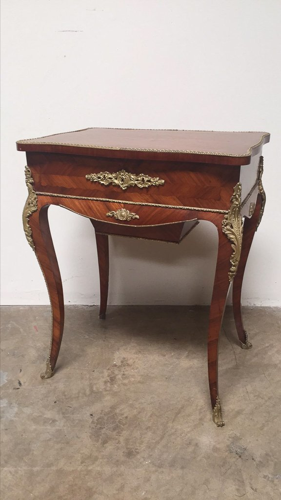 Signed Jean Pierre Tahan Vanity Table - 4