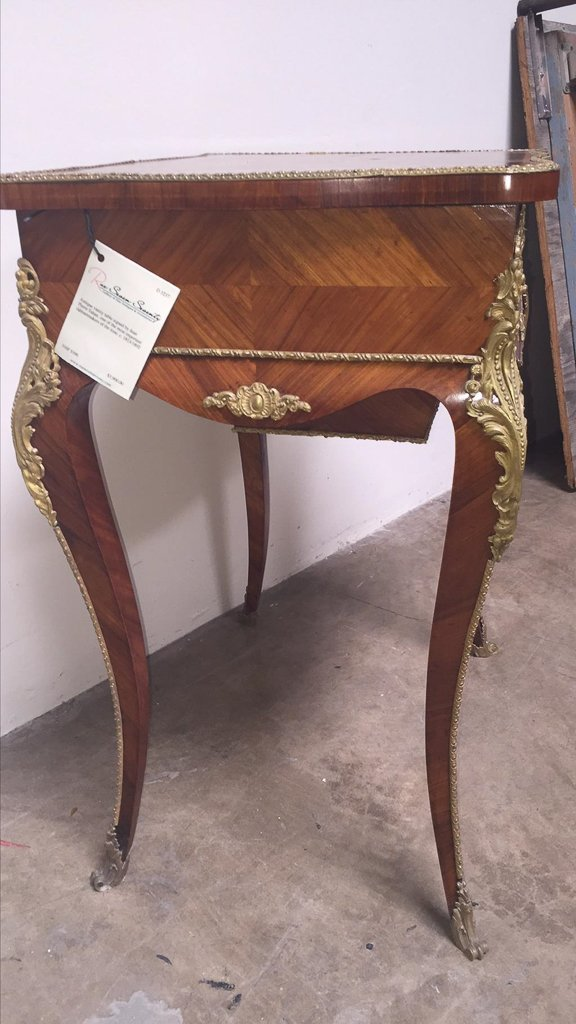 Signed Jean Pierre Tahan Vanity Table - 5