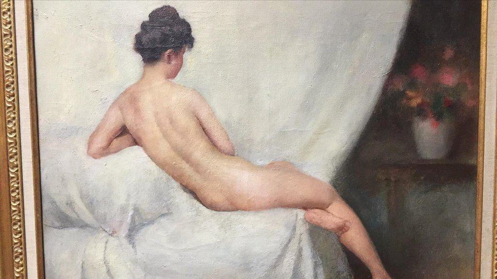 19th Century Oil On Canvas Of Nude, Signed - 2