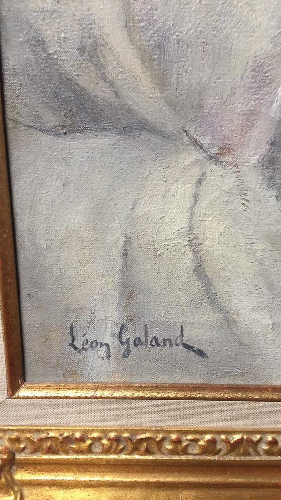 19th Century Oil On Canvas Of Nude, Signed - 3