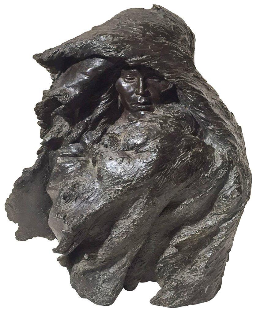 Edward Thournton, Signed Bronze Figure, 1983