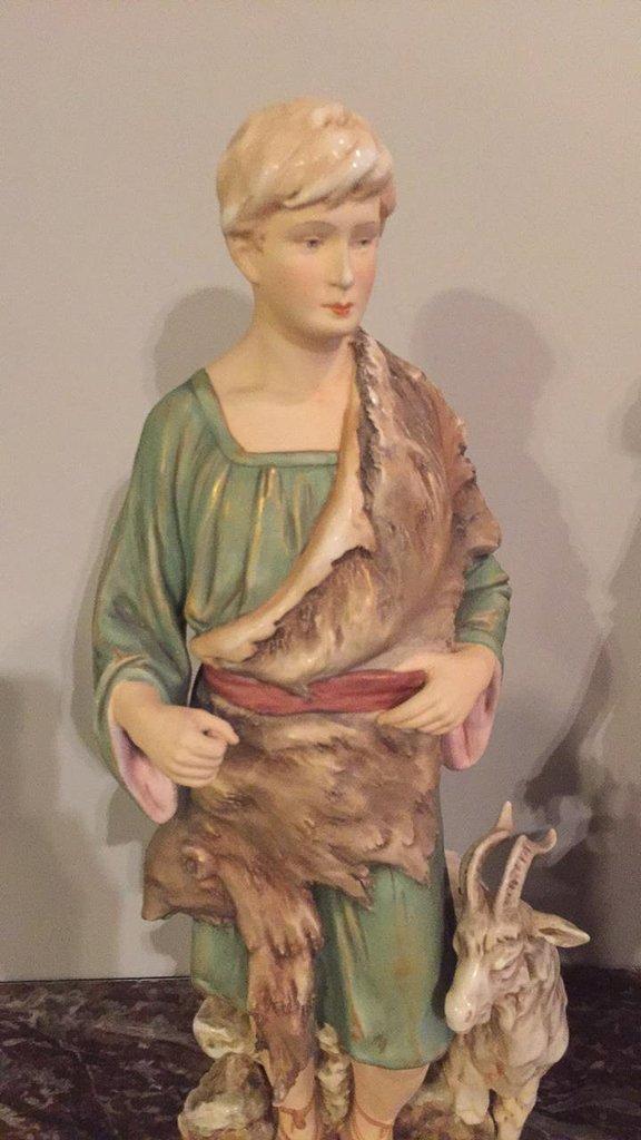 Pair Of 19th C. Royal Dux Figures - 2