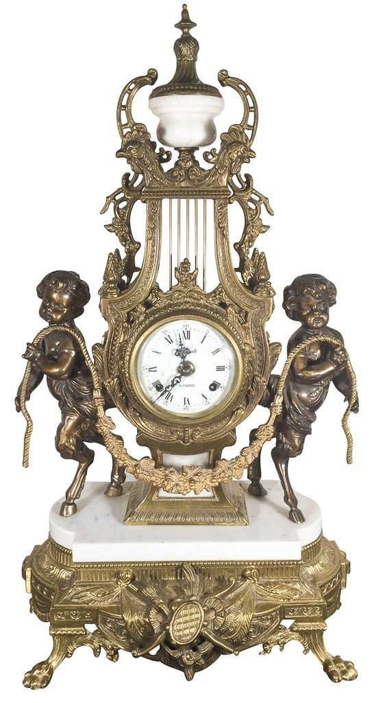 Find Quality Italian Bronze Clock