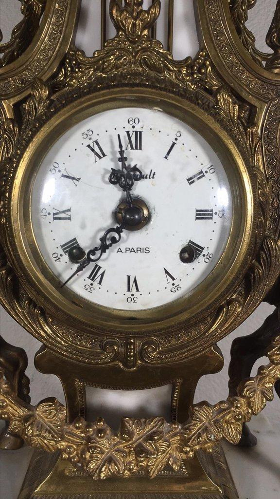 Find Quality Italian Bronze Clock - 2