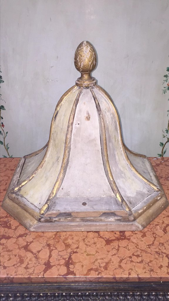 19th-century French Painted Wall Bracket - 2