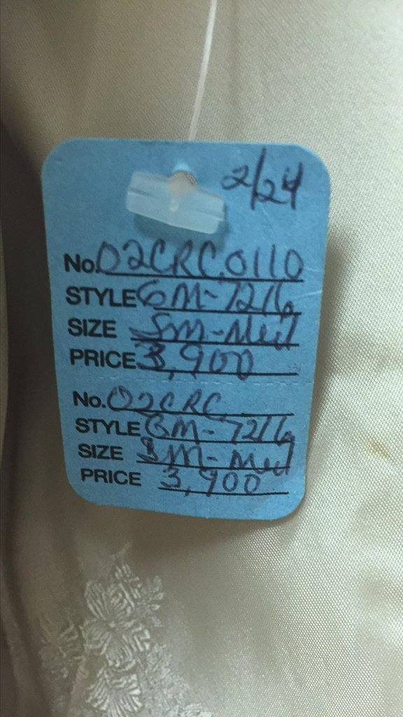 Unusual Full Length Mink Coat, Unique Dyed - 3