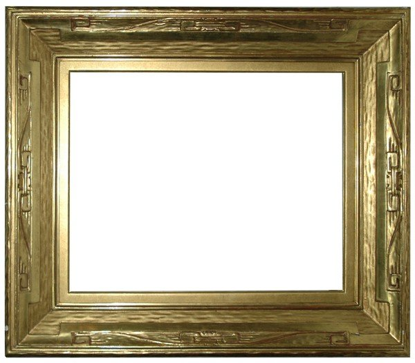 11: Replica frame - American, Arts & Crafts-style, hand