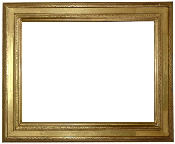 12: Replica frame - American, Arts & Crafts-style, hand
