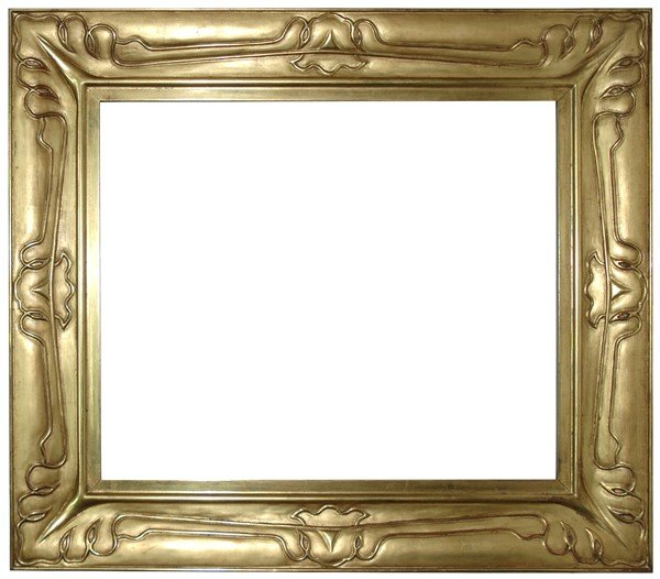13: Replica frame - American, Arts & Crafts-style, hand