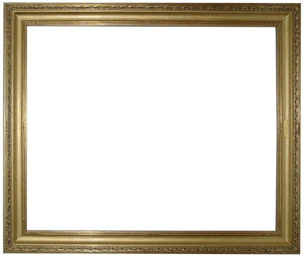 15: Replica frame - American, Arts & Crafts-style, hand