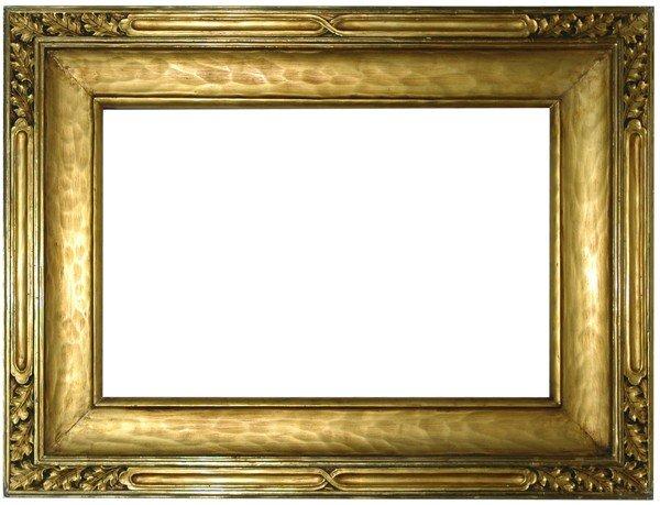 295: American, Arts & Crafts, J.H. Miller frame