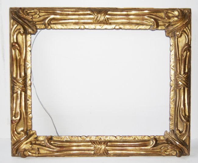 American 20th C. gilded arts and crafts frame