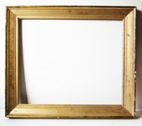 American 19th C. Gilded Sully Bevelled Frame