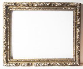French 18th C. Hand Carved Louis Frame