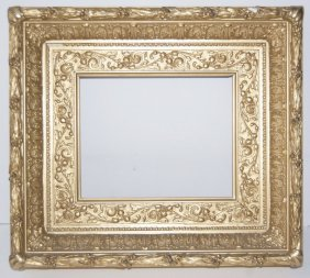 American 19th C. Gilded Gifford Style Frame.