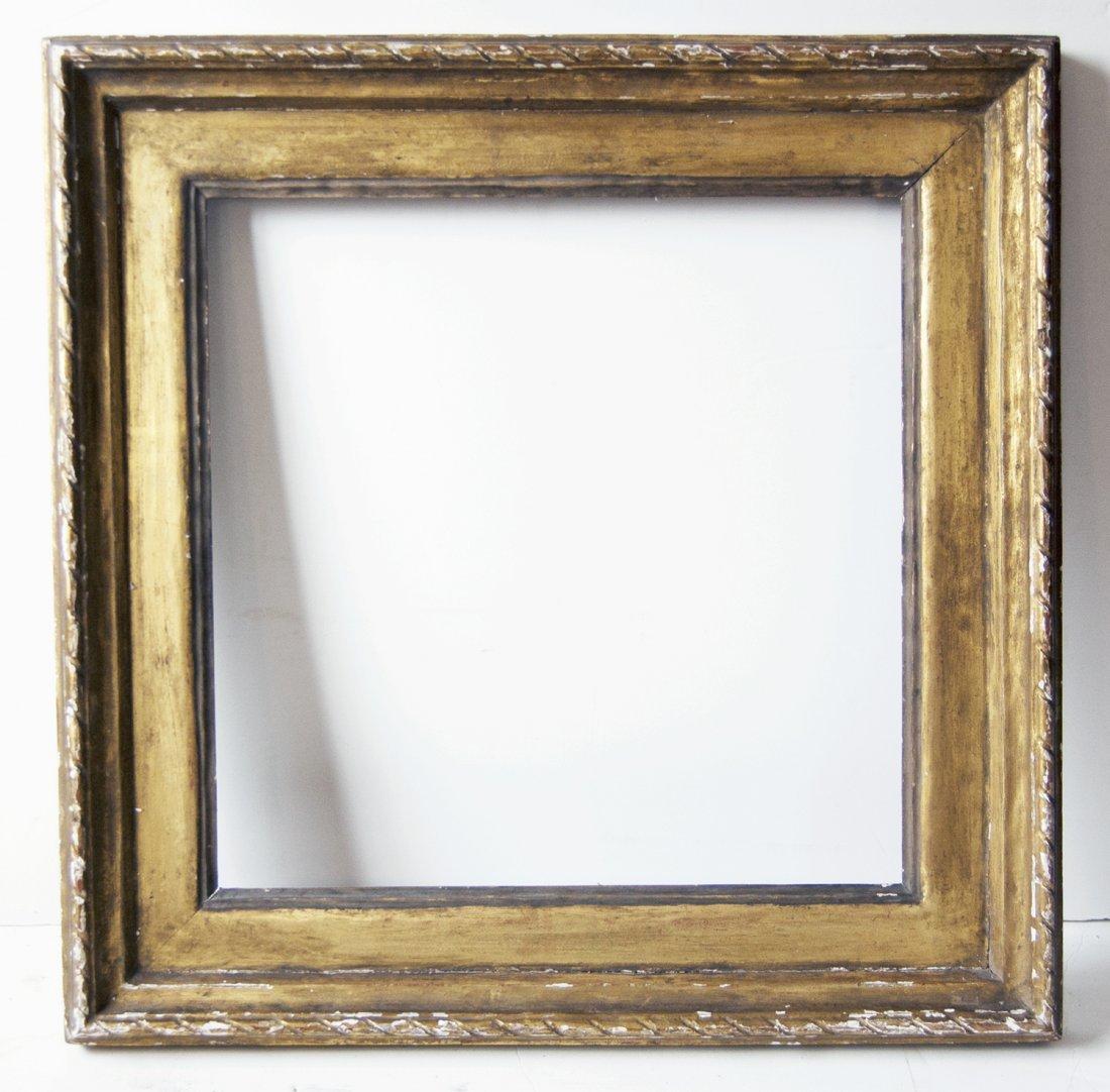 Rare signed Robert Laurent - Arts and crafts frame