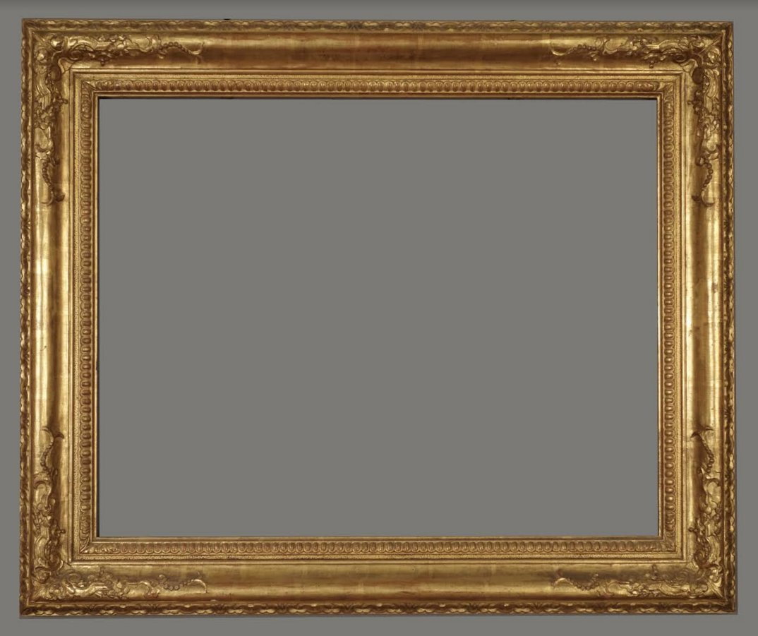 American 20th C. carved American Impressionist frame