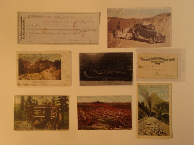24: 8 Advertising Company Ad Post Cards