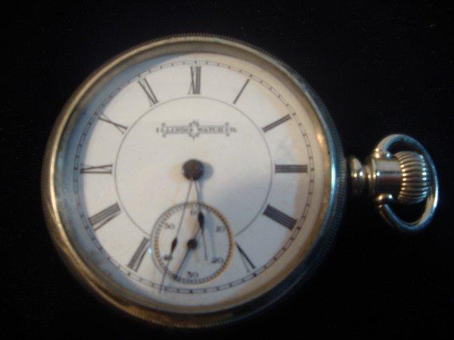64: Illinois Watch Company Pocket Watch