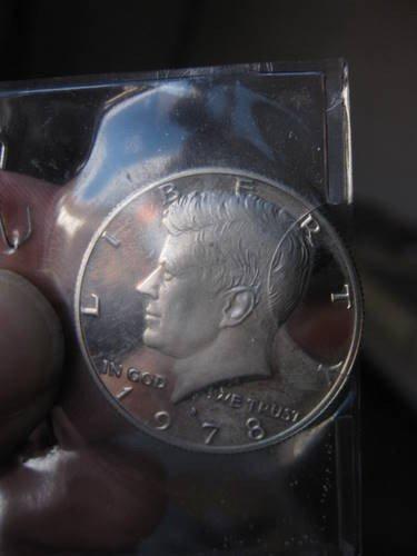 402: WW- 1978 Kennedy Half Dollar