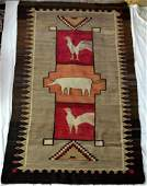 225: Navajo Indian Tribal Rug