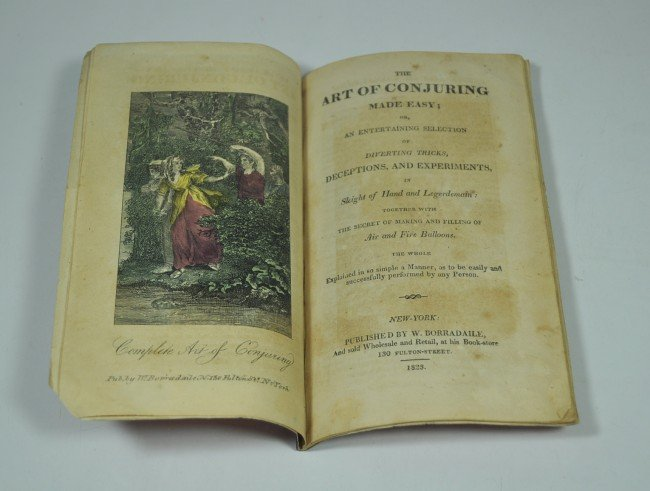 17: THE ART OF CONJURING MADE EASY; 1823