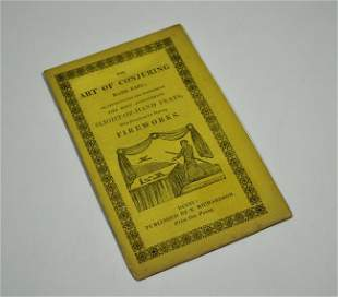 18: THE ART OF CONJURING MADE EASY; 1860