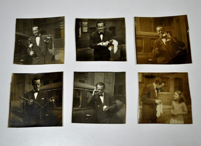 24: BENSON, ROY. Photographs and Negatives.