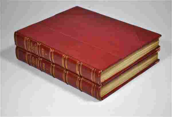CHAPUIS, ALFRED Le Monde des Automates Vol. 1 & 2.