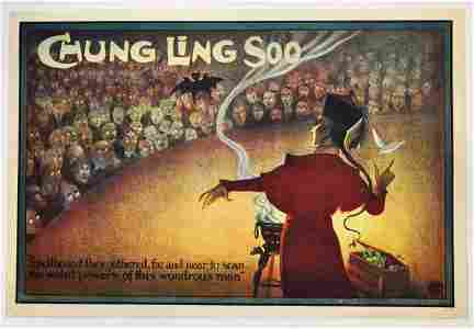 43: CHUNG LING SOO Spellbound Lithograph