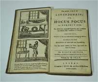52: DEAN, HENRY. The Whole Art of Legerdemain; 1781