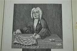 85: FAWKES, ISAAC. Engraving, Circa 1725