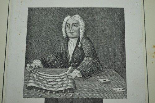 FAWKES, ISAAC. Engraving, Circa 1725