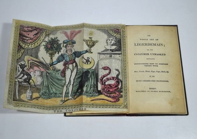 WHOLE ART OF LEGERDEMAIN; 1830