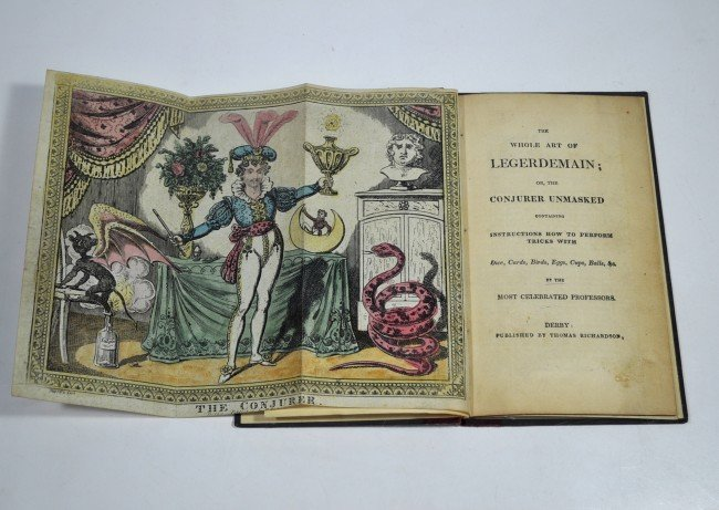 265: WHOLE ART OF LEGERDEMAIN; 1830