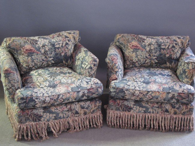 3: PAIR CLUB CHAIRS