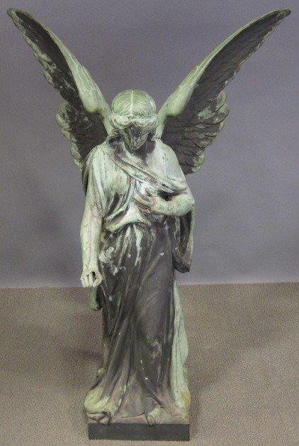 237: 19th CENTURY ANGELIC FIGURE: