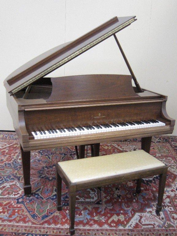 357: STEINWAY BABY GRAND PIANO