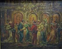 15 Monticelli  19th Century Oil on Panel